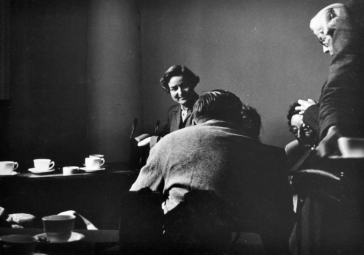 """""""The Raconteur, Attingham Park, 1955."""""""