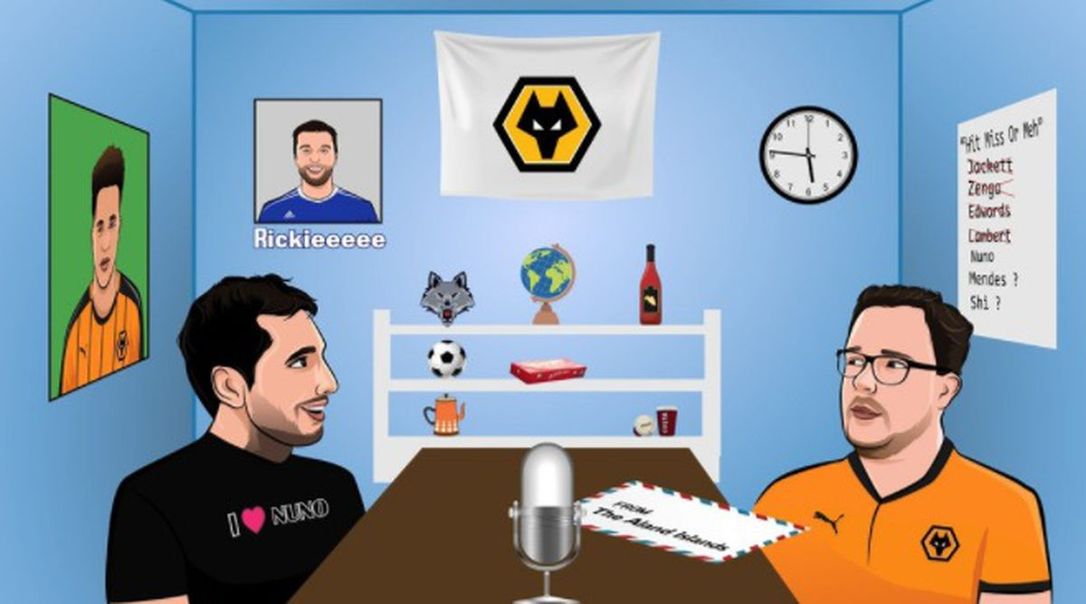 Wolves poddy with Spiers and Judah
