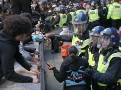 Clashes with police after thousands join Black Lives Matter rally in London