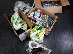 The operation saw counterfeit and illicit tobacco seized (Photo by West Mercia Police)