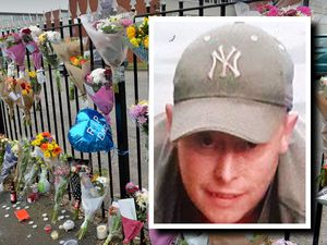 Tributes have been left to Darren Whitehouse who died after being hit by a car