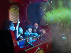 The Gangsta Granny ride, based on David Walliams' best-selling book, is due to open in May