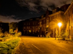 Pictures reveal secrets of abandoned Staffordshire hospital