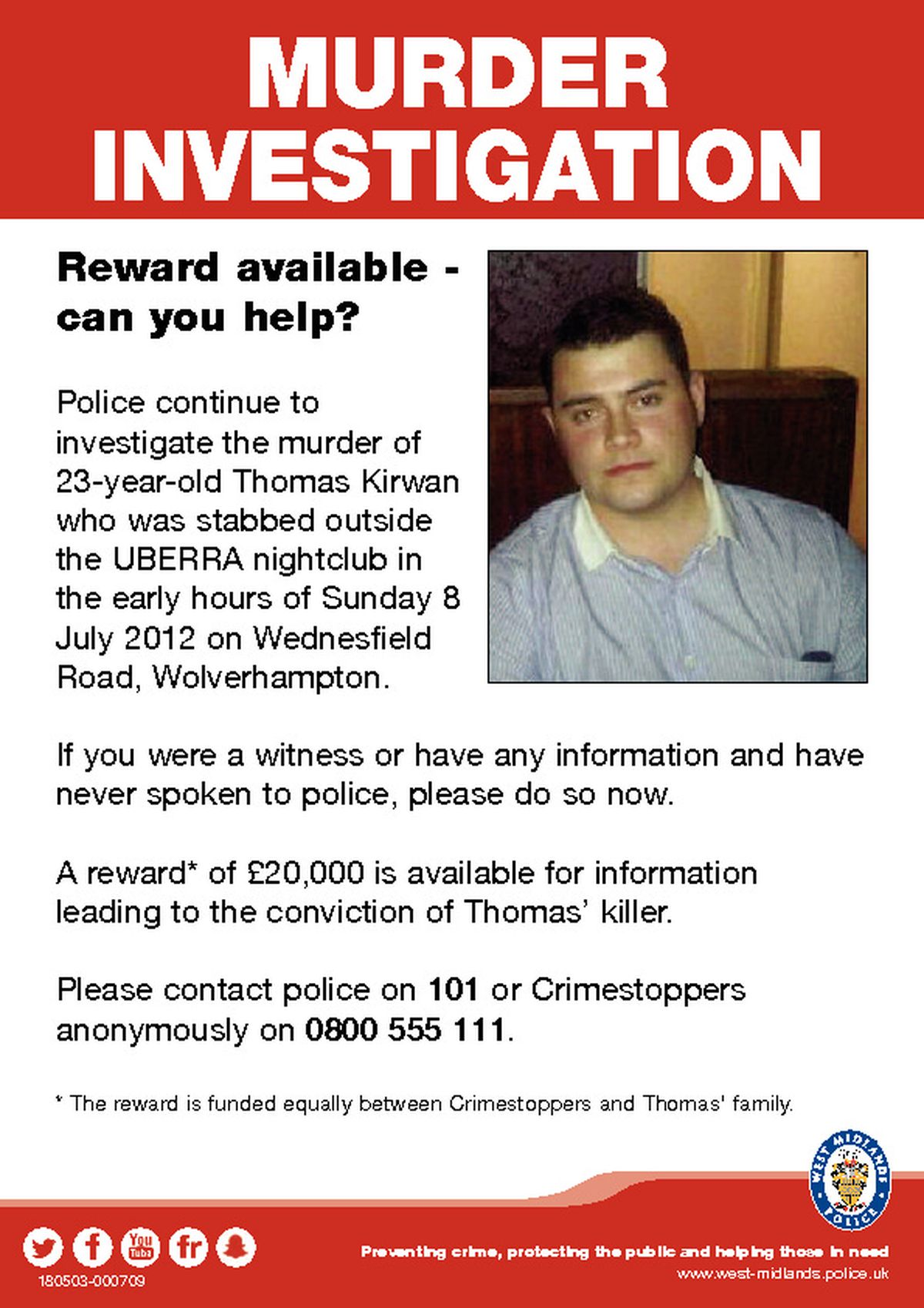 These new posters are being put up around Wolverhampton