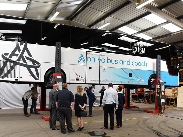 TotalKare welcomes next-gen Van Hool coach to mark 30-year Arriva Bus and Coach partnership