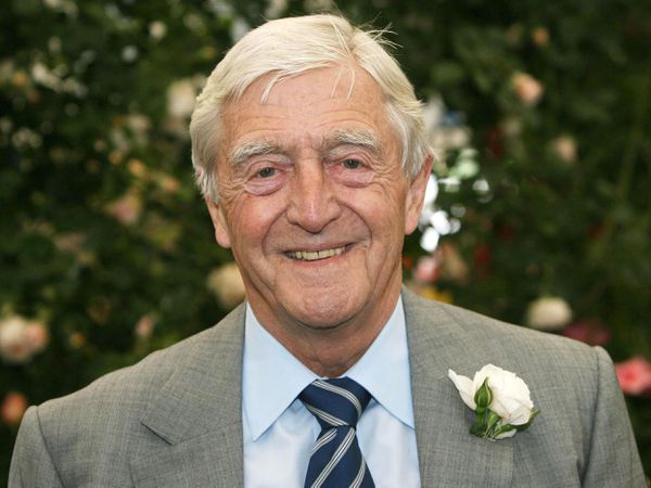 Sir Michael Parkinson. Pic: Lewis Whyld