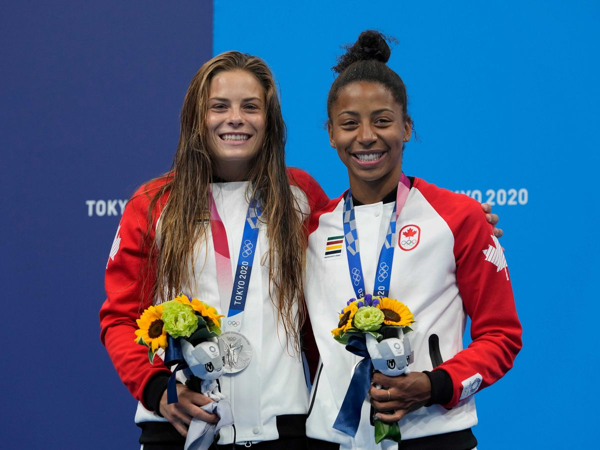 Jennifer Abel and Melissa Citrini-Beaulieu