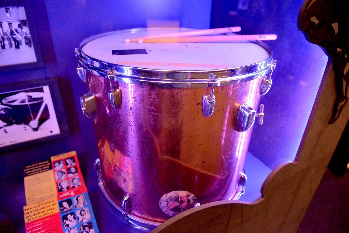 Bill Ward's drum