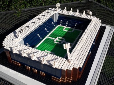 Lego Hawthorns created 'to cheer West Brom fans up'