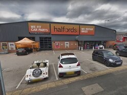 Engineer 'suffers electric shock' at Halfords store
