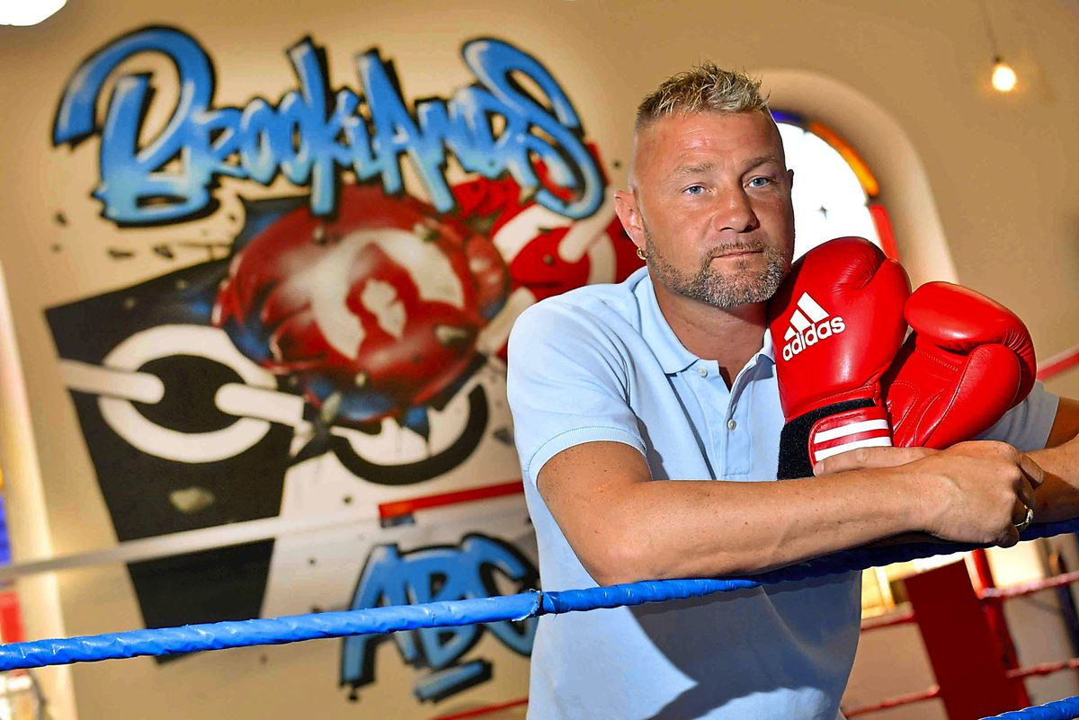 Darren McDermott at the BrooklandsGym he set up in the Black Country. He revealed it was four or five years before he sought professional help after suffering a serious brain injury