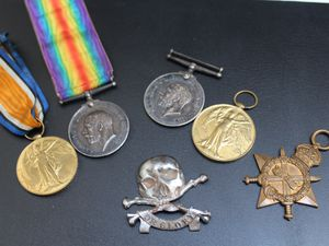 Medals up for auction on June 3