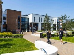 Stafford College locked down after 'man seen with massive knife'
