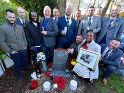 Touching tribute to murdered soldier Narel Sharpe by former comrades