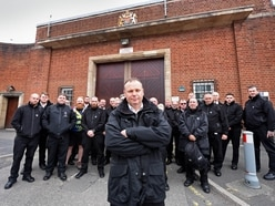 Prison officers walk out in protest at rise in violence