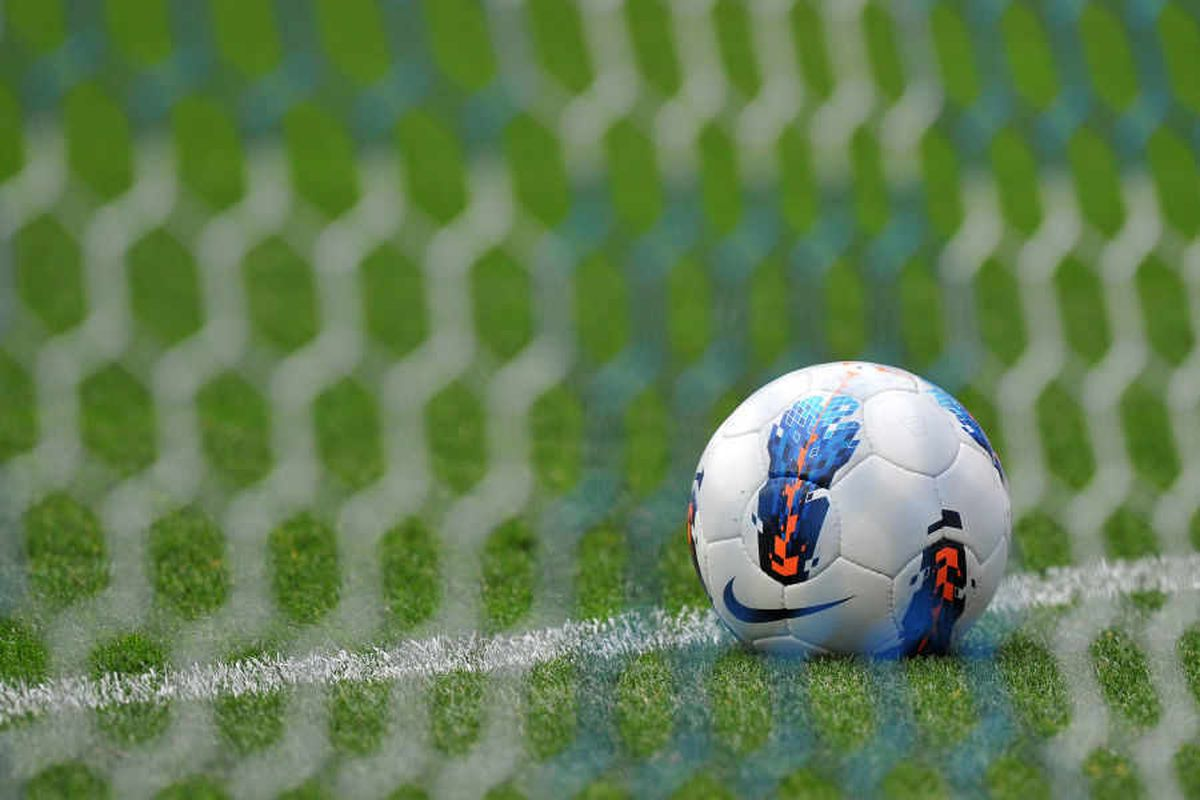 The player was attacked during the Sunday league clash