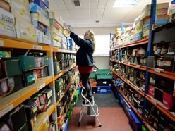 Soaring demand for Black Country and Staffordshire food banks