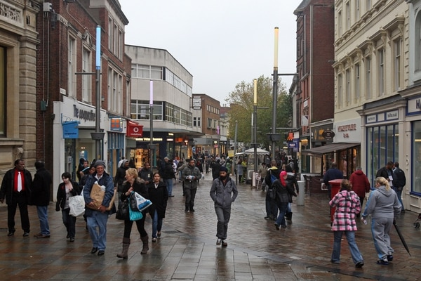 Barking Road named the eight unhealthiest high street in London