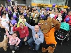 Dicky Dodd and Wolfie start One Million Steps fundraiser