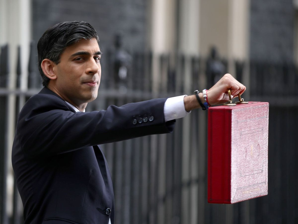 Chancellor of the Exchequer, Rishi Sunak outside 11 Downing Street, London (Aaron Chown/PA)