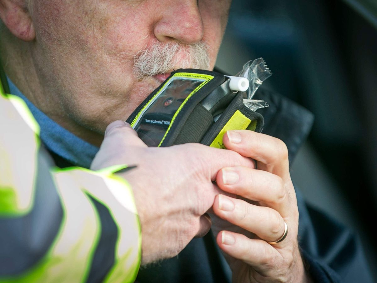 PSNI drink driving checkpoint