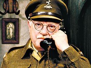 Dad's Army Arthur Lowe - Capt George Mainwaring