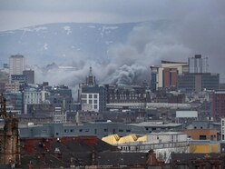 'Challenging' Glasgow city-centre blaze contained, fire chiefs say