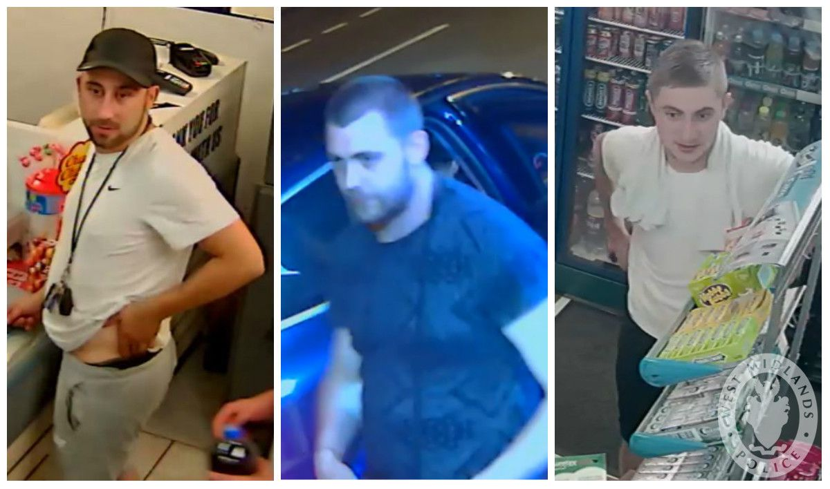 Do you recognise these men? Call police on 101