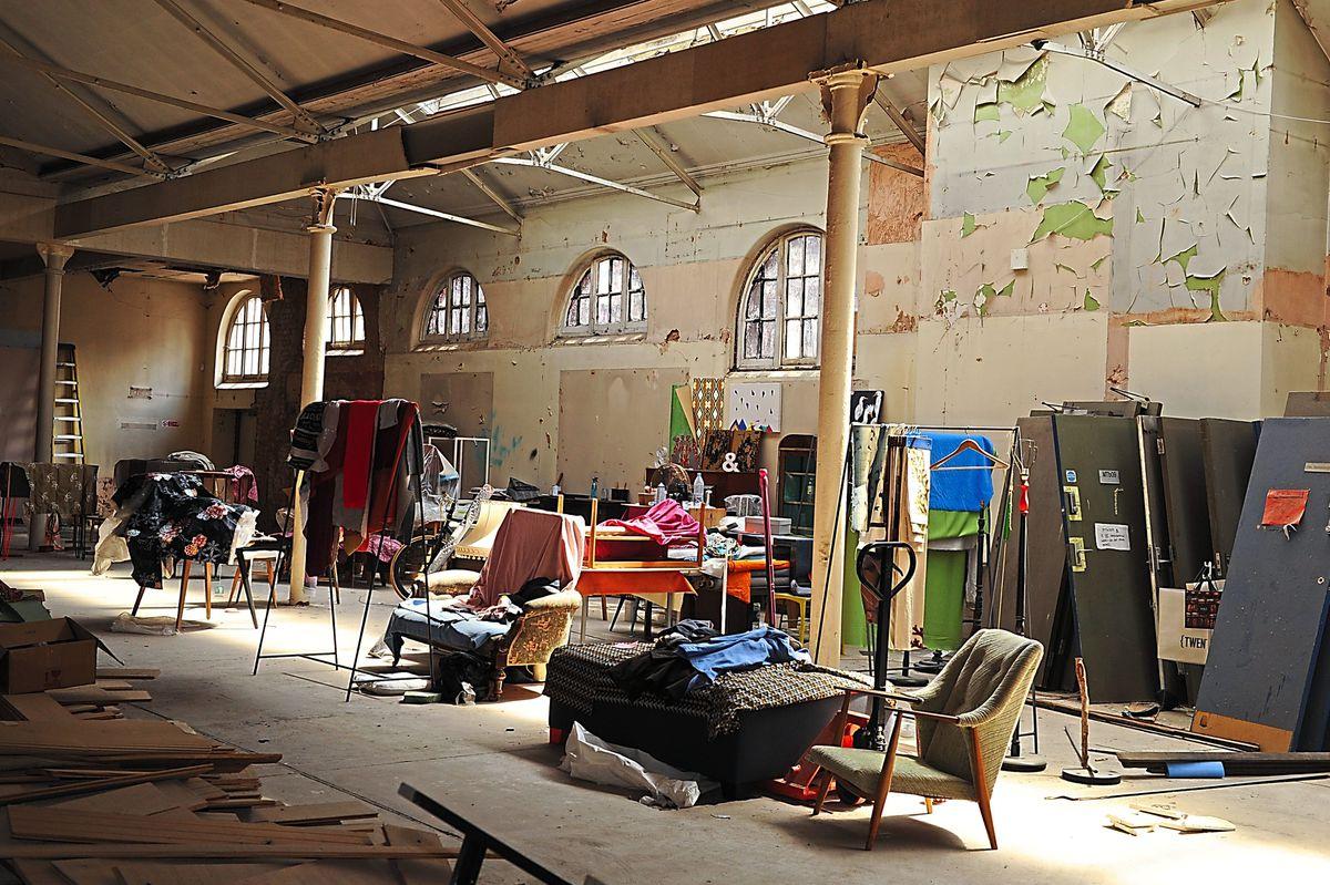 Factory of furnishings – Jay's Wolverhampton workshop