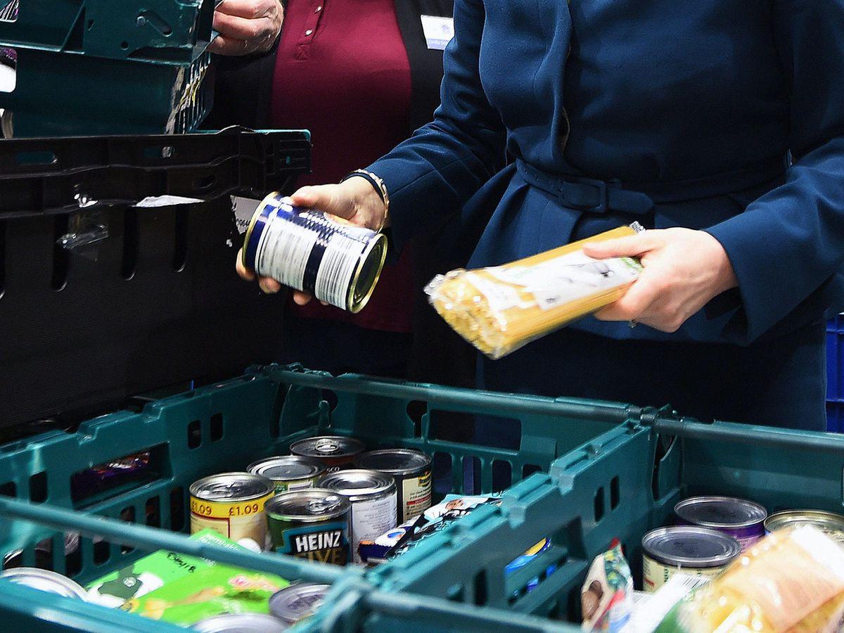 Foodbank usage
