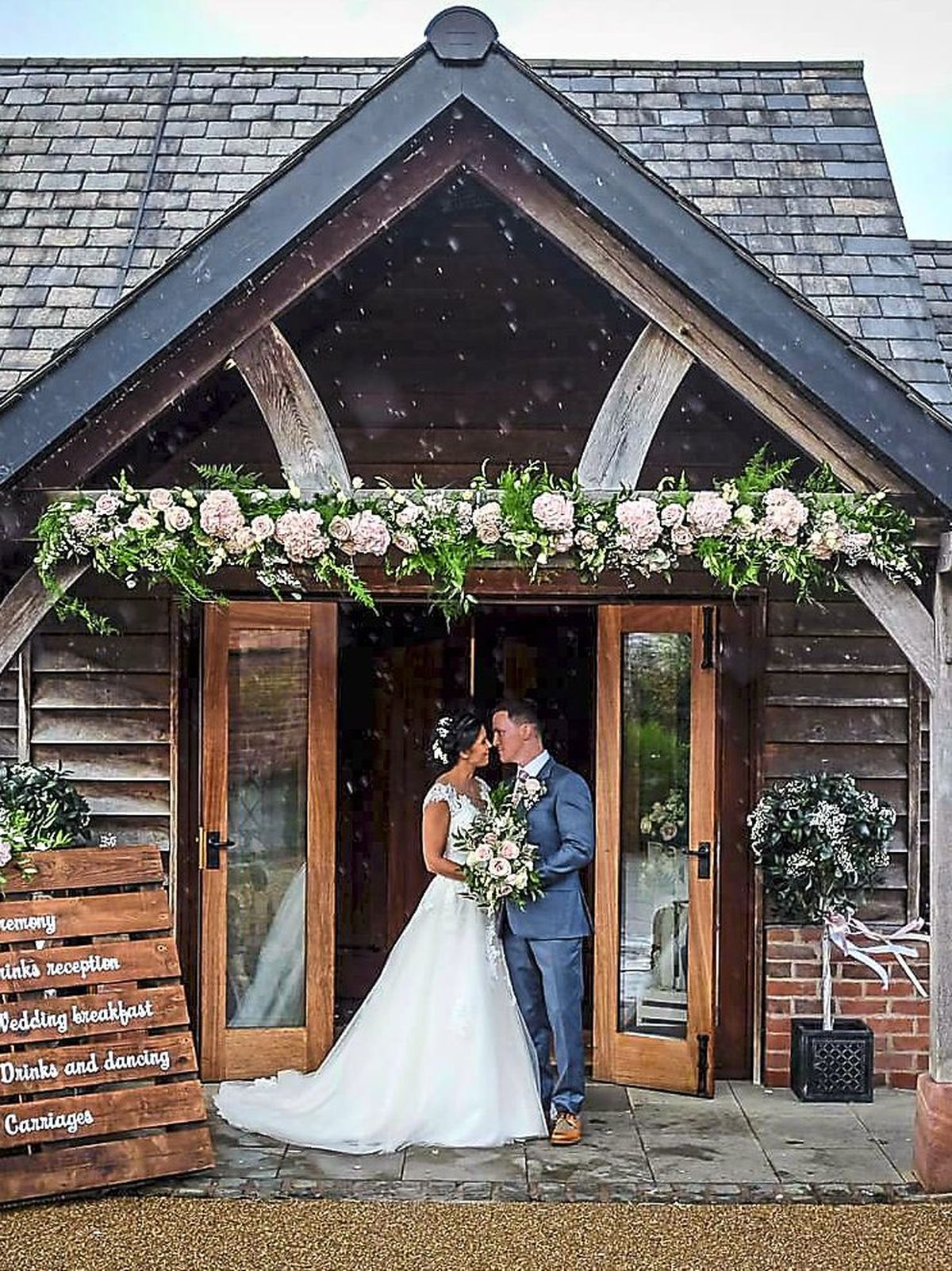 Country Dream Weddings and Events West Midlands have said they are cautiously planning future events