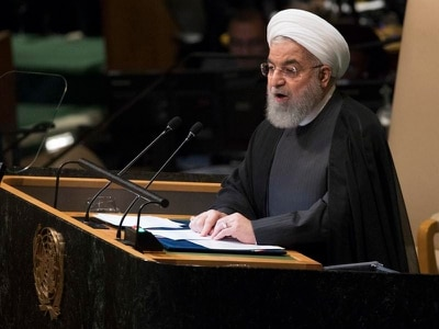 Iranian president accuses US of trying to overthrow his government