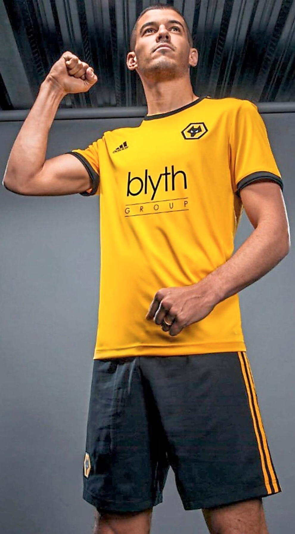 cd6bdf51fb1 Helder Costa showing off Wolves' new away strip? Conor Coady in Wolves' new  home kit?