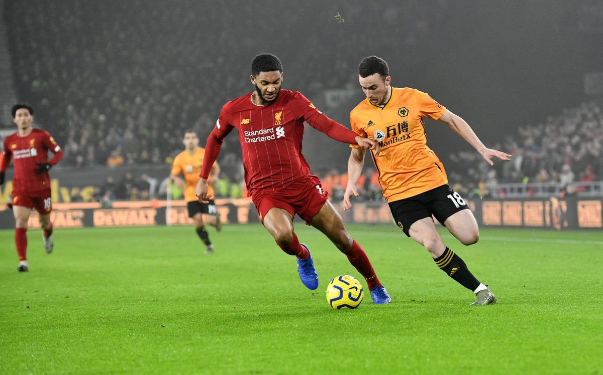 Jota in action against Liverpool (AMA)