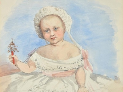 Family drawings by Queen Victoria to go under hammer