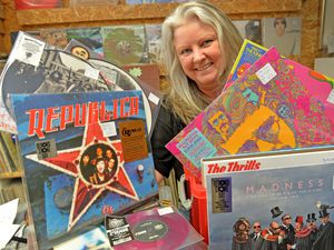Self-confessed vinyl fanatic Claire Howell of Vinyl & Vintage
