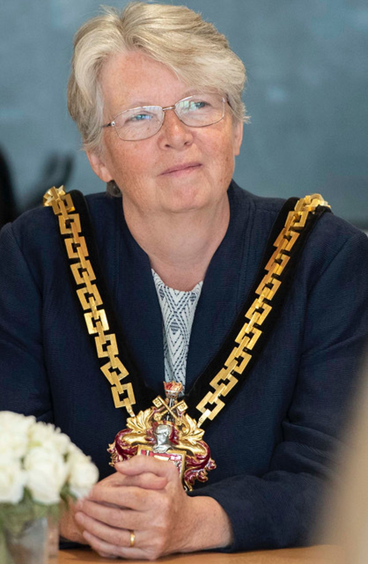 Mayor of Wolverhampton Claire Darke