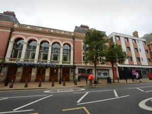 The old post office next to the Grand Theatre on Lichfield Street has been converted into flats