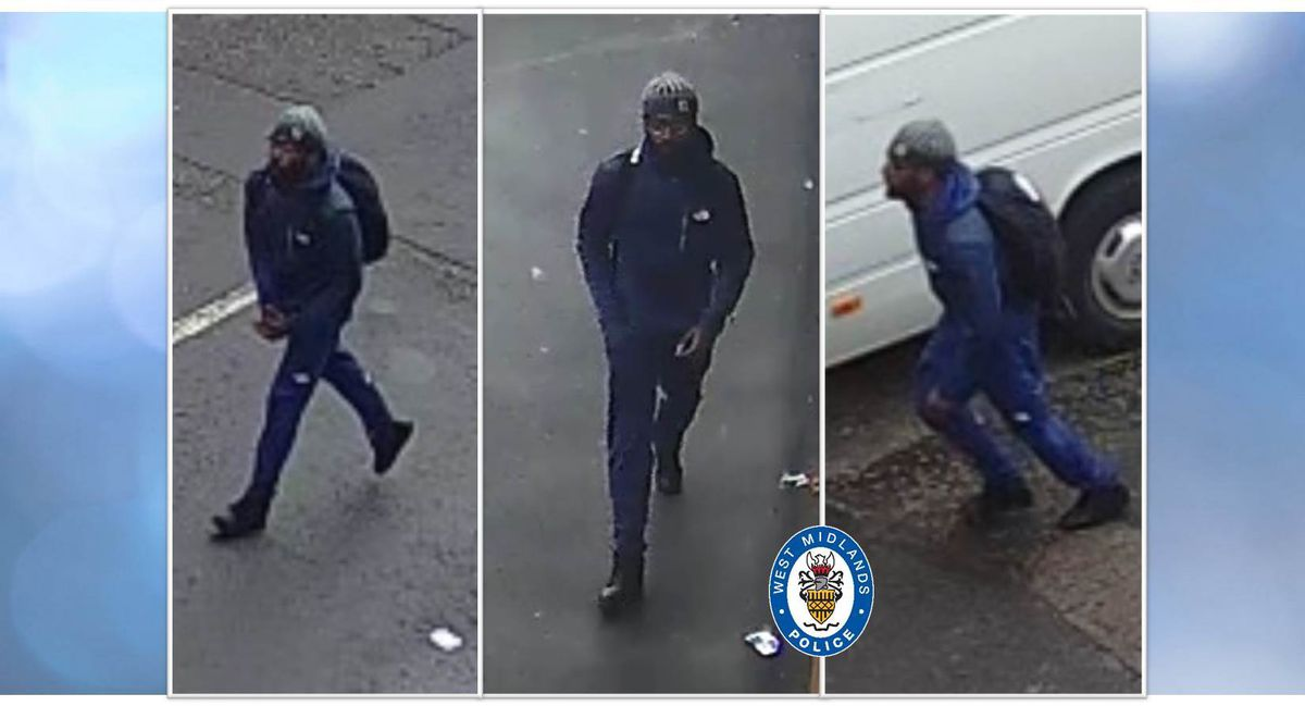 The person police are trying to trace