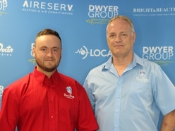 Father and son team up in drainage business