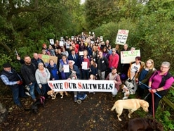 Save our Saltwells! Campaigners rally against nature reserve homes plan
