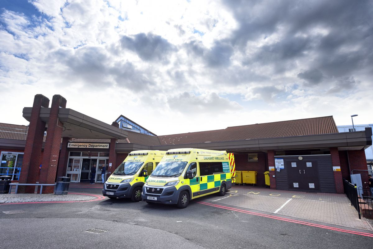 Walsall Manor Hospital said care fell below standards
