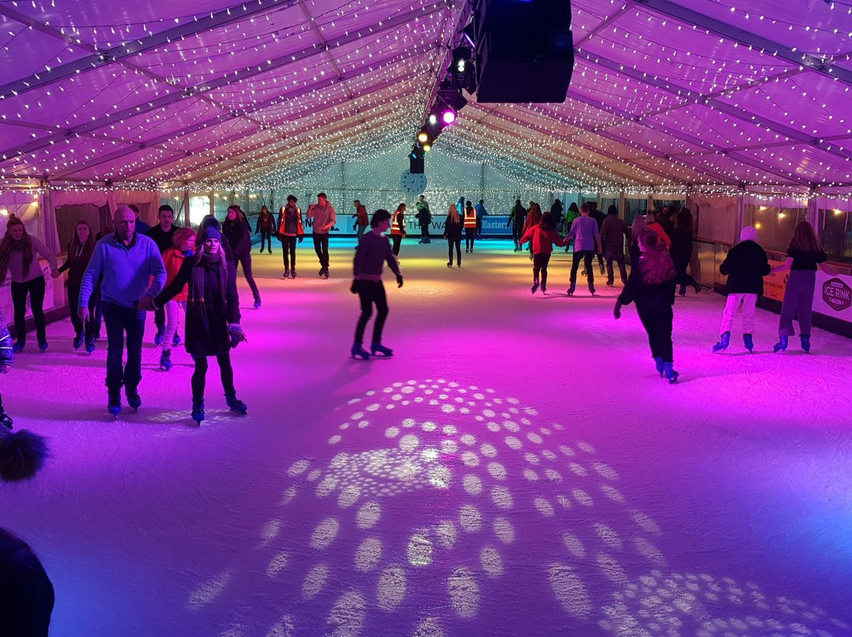 An ice rink will form part of the event at Victoria Park