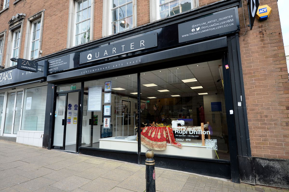 An new arts space on School Street, Wolverhampton, called The Quarter