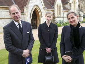 The Earl and Countess of Wessex, with their daughter Lady Louise Windsor