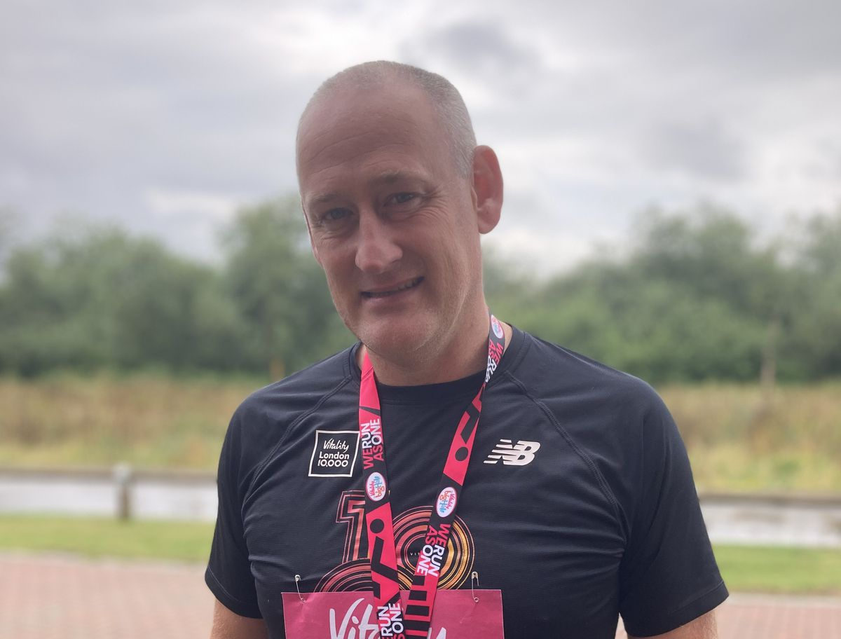 Stuart Hubble is running the London Marathon this Sunday to raise money for the charity Carter The Brave in support of Birmingham Children's Hospital.