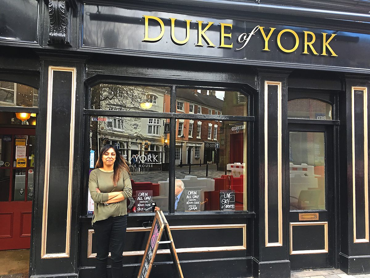 Bea Kaur from the Duke of York had record takings from the Birmingham game