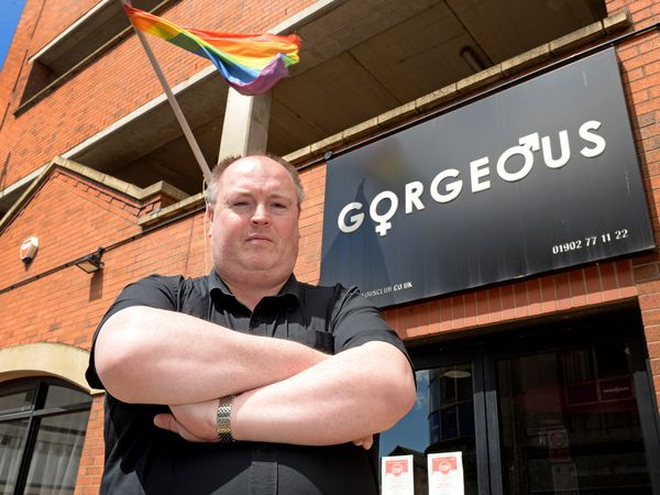 Nightclub boss Shaun Keasey, who runs Gorgeous in School Street, Wolverhampton.