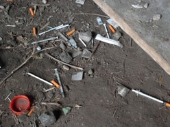 More than 1,000 discarded needles found in Wolverhampton