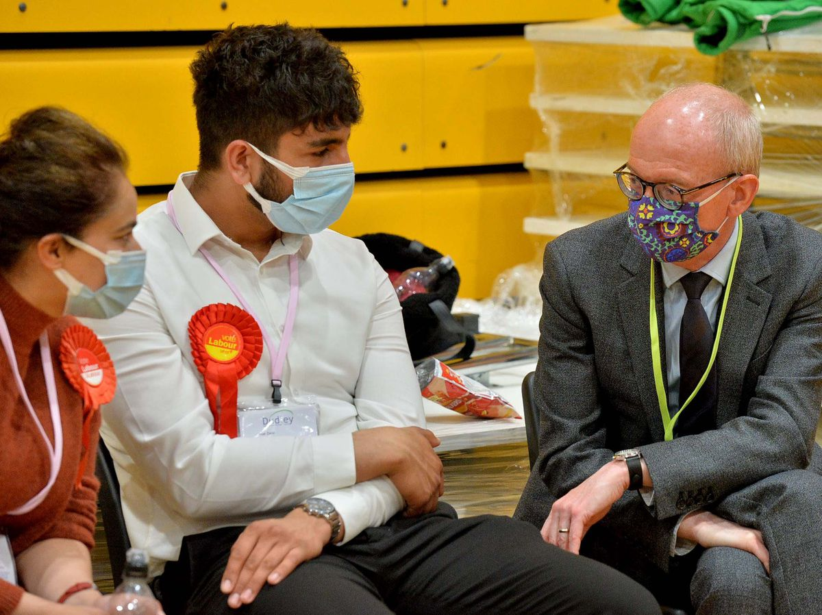 Labour Wolverhampton MP Pat McFadden, right, said Sir Keir Starmer should be given the chance to change the party